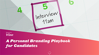 A Personal Branding Playbook for Candidates eBook thumbnail