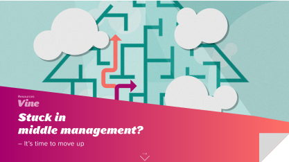 Stuck in Middle Management? It's Time to Move Up!