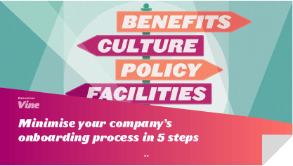 Minimise Your Company's Onboarding Process in 5 Steps